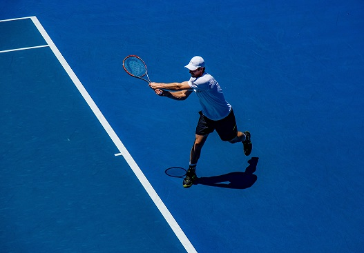 Ból łokcia - Łokieć tenisisty- tenisista